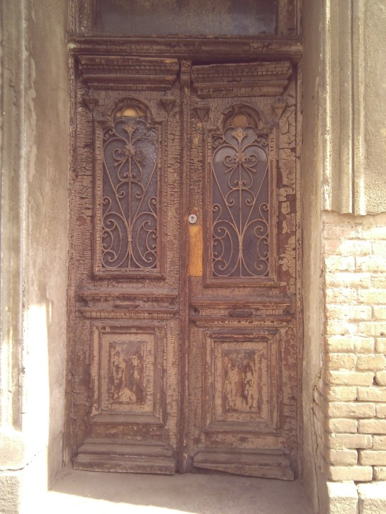 Door in Tbilisi