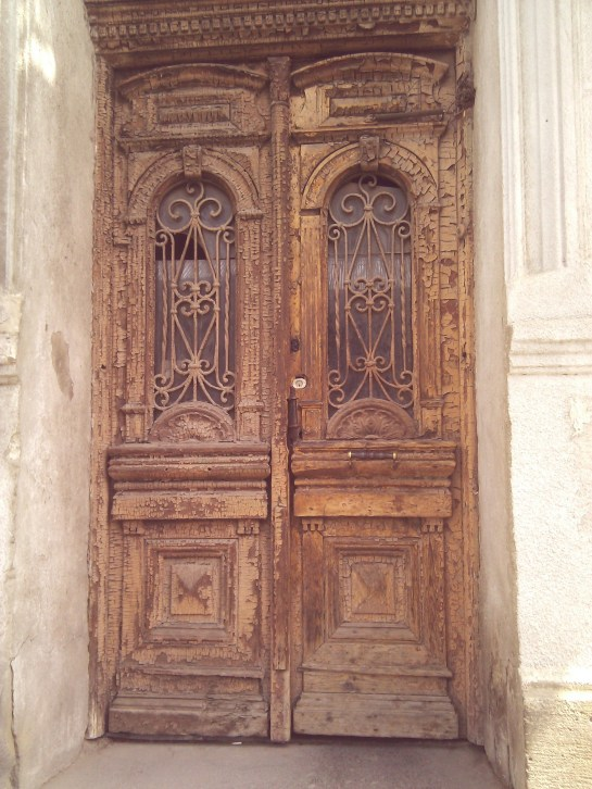 Old Door in Tbilisi