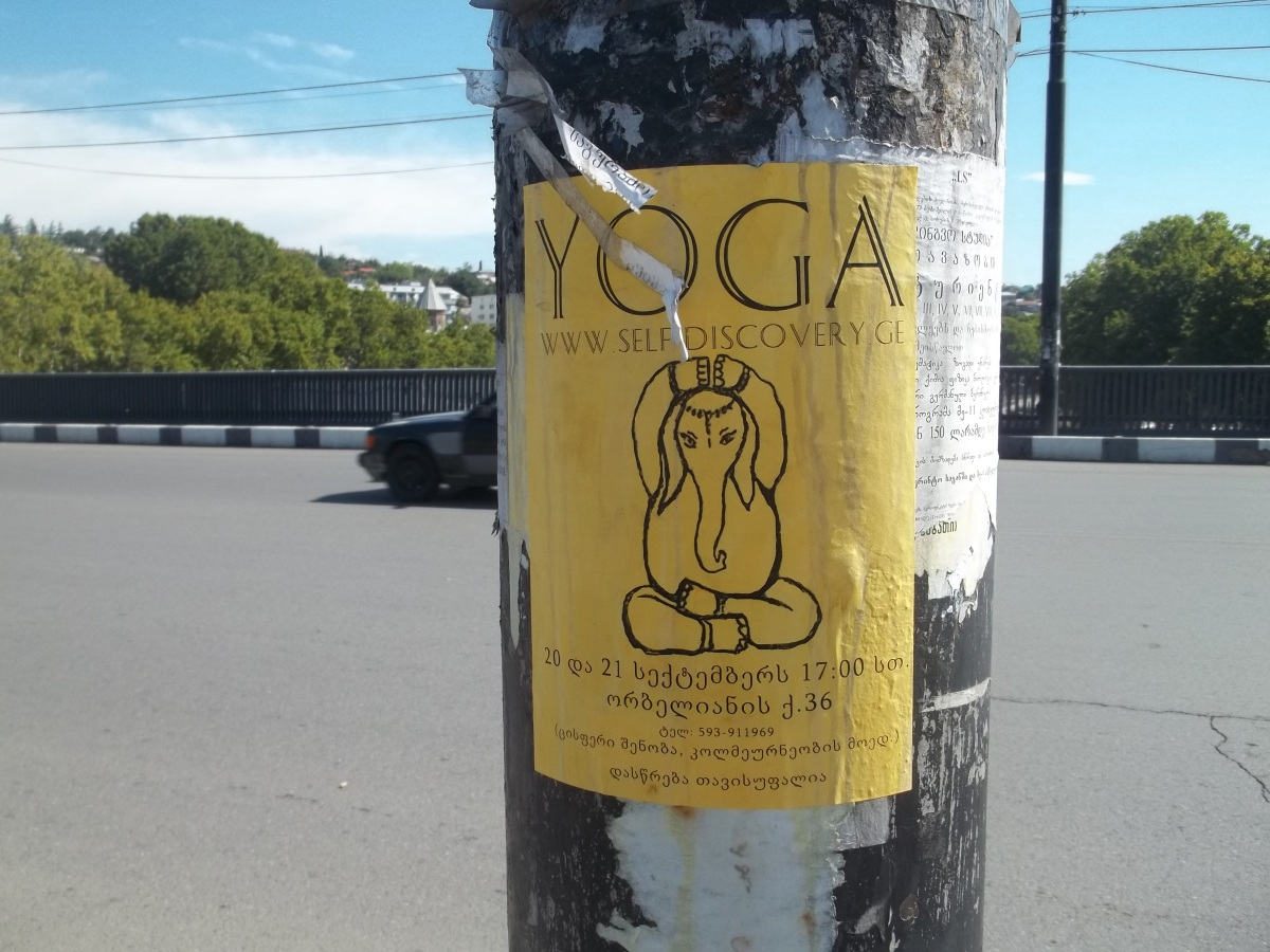 Yoga for elephants
